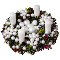 Modern Advent wreath