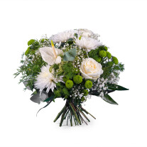 Spring Bouquet with Anthurium and Roses